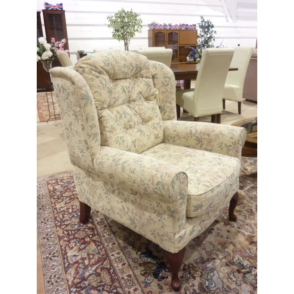 2 Floral Arm Chairs Froggatts Of Lincoln
