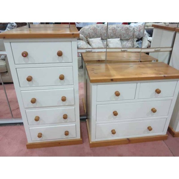 White pine bedroom set froggatts of lincoln - White and pine bedroom furniture ...